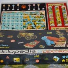 Juegos de mesa: ENCICLOPEDIA SLEXTRONIKA - ANTIGUA AÑOS 60 - BUEN ESTADO Y FUNCIONADO, ESTÁ PROBADA - ¡MIRA FOTOS!. Lote 197565391