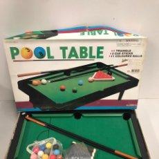 Juegos de mesa: POOL TABLE. Lote 197566186