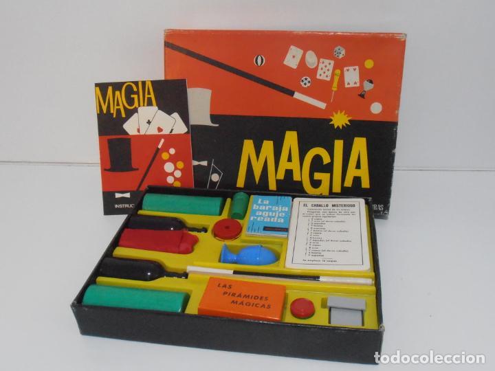 ANTIGUO JUEGO DE MAGIA BORRAS Nº0, AÑOS 60, COMPLETO, PERFECTO ESTADO, CASI SIN JUGAR (Juguetes - Juegos - Juegos de Mesa)