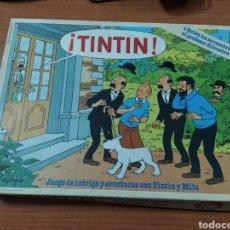 Juegos de mesa: JUEGO TINTÍN EDUCA INCOMPLETO. Lote 197654226