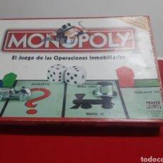 Juegos de mesa: MONOPOLY EL JUEGO DE LAS OPERACIONES INMOBILIARIA FABRICADO EN IRLANDA LA MARCA PARKER. Lote 197673301