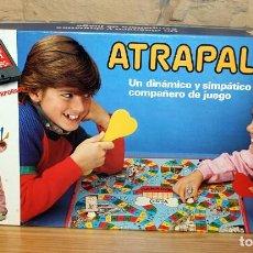 Juegos de mesa: ATRAPALO - BORRAS - REF. 8640 - MADE IN SPAIN - AÑOS 80 - NUEVO A ESTRENAR - IMPECABLE. Lote 197979427