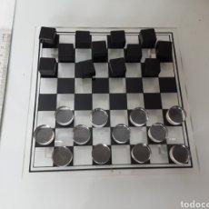 Juegos de mesa: JUEGO DAMAS METACRILATO. Lote 198788222