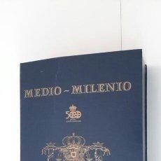 Juegos de mesa: MEDIO MILENIO JUEGO DE MESA SOBRE EL QUINTO CENTENARIO DEL DESCUBRIMIENTO DE AMÉRICA ED. GRUPO 1992. Lote 199269190