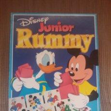 Juegos de mesa: RUMMY JÚNIOR -DISNEY-. Lote 199348267