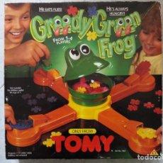 Juegos de mesa: JUEGO RANA COMEMOSCAS. TOMY. BIZAK. . Lote 199362382