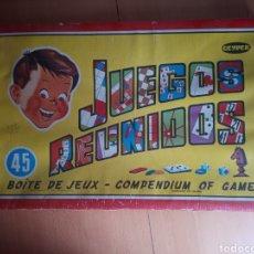 Juegos de mesa: JUEGOS REUNIDOS GEYPER 45 VER FOTOS. Lote 199646090