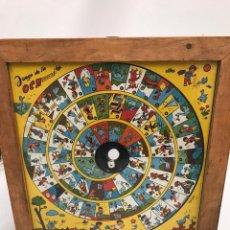 Juegos de mesa: JUEGO DE LA OCA INFANSOL. Lote 199667528