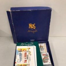 Juegos de mesa: MUS. Lote 199763458