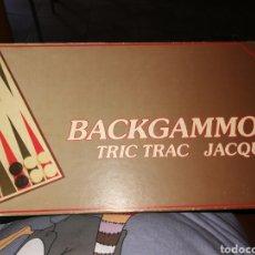 Juegos de mesa: BACKGAMMOM JUEGO DE MESA. Lote 199935555