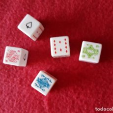 Juegos de mesa: JUEGO DE DADOS. Lote 199961953