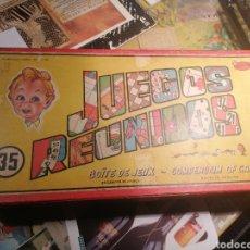 Juegos de mesa: JUEGOS REUNIDOS GEYPER CAJA CON. Lote 200163210
