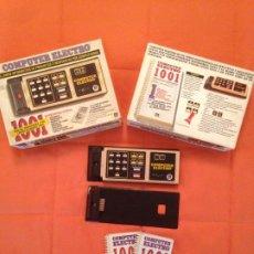 Juegos de mesa: COMPUTER ELECTRO - 1001 PREGUNTAS VOLUMEN 1 Y 2 INCLUIDOS - DISET. Lote 200598260