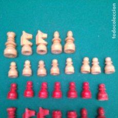 Giochi da tavolo: AJEDREZ - 27 FICHAS - MADERA - PEONES ALTO: 2.5 CM.. Lote 200776565