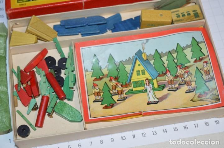 Juegos de mesa: 3 Antiguos juegos de mesa variados - Muy antiguos años 50 / 60 ¡Mira fotos y detalles! - Foto 3 - 200855120
