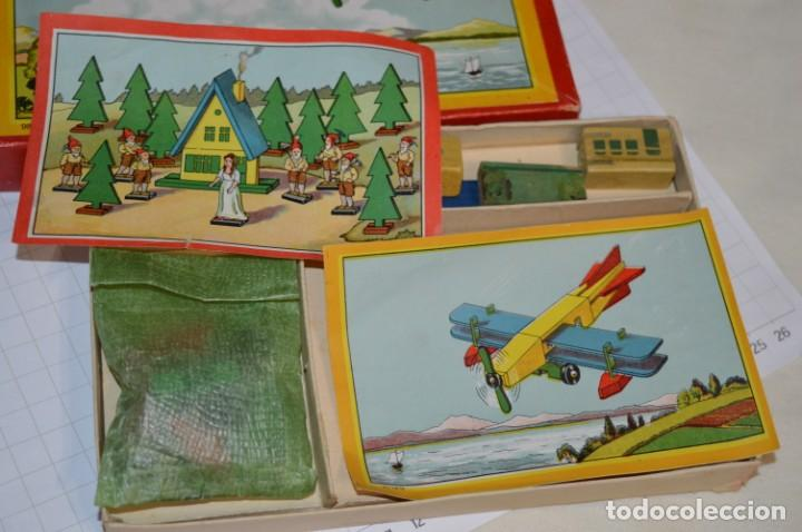 Juegos de mesa: 3 Antiguos juegos de mesa variados - Muy antiguos años 50 / 60 ¡Mira fotos y detalles! - Foto 5 - 200855120
