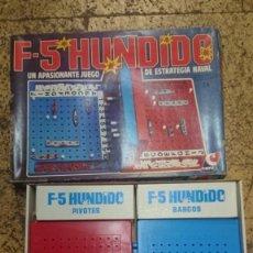 Juegos de mesa: ANTIGUO JUEGO DE MESA F5 HUNDIDO DE CEFA - HUNDIR LA FLOTA. Lote 201107648
