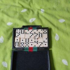 Juegos de mesa: JUEGO DOMINÓ EN SU ESTUCHE. Lote 201115523