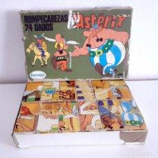Juegos de mesa: JUEGO MESA ROMPECABEZAS ASTERIX AÑOS 70 COMPLETO PAPIROTS. Lote 201128066