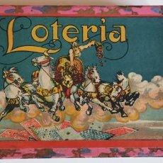 Juegos de mesa: JUEGO DE LOTERIA. BINGO. PRINCIPIOS SIGLO XX. Lote 202108671