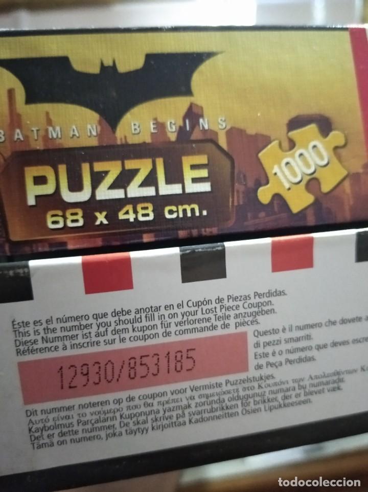 Juegos de mesa: PUZZLE BATMAN BEGINS - 1000 PIEZAS - 68X48 - EDUCA - Foto 5 - 43868684