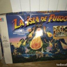 Juegos de mesa: JUEGO DE MESA LA ISLA DE FUEGO MB 1987 INCOMPLETO TIPO ROL O CEFA. Lote 202583530