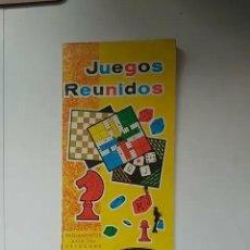 Giochi da tavolo: INSTRUCCIONES JUEGOS REUNIDOS GEYPER. Lote 203016671