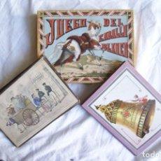 Juegos de mesa: JUEGO DEL CABALLO BLANCO ANTIGUO CON CAJA 2 TIPOS TARJETAS VER FOTOS. Lote 203052412