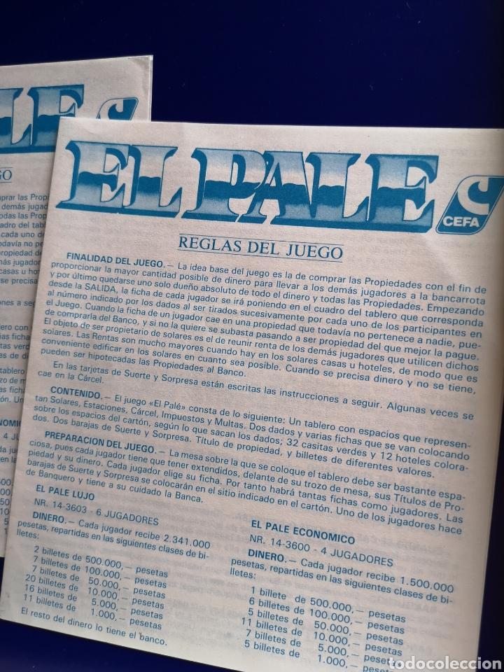 Juegos de mesa: Juego El Pale de Cefa - Foto 4 - 203178890