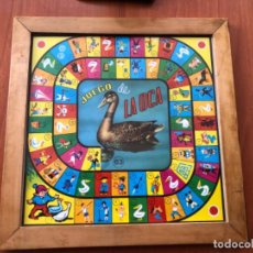 Juegos de mesa: ANTIGUO JUEGO DE LA OCA Y PARCHÍS MARCA COVEFO. Lote 203434942