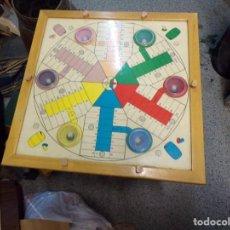 Juegos de mesa: JUEGO PARCHIS DADOS AUTOMATICOS 6 JUGADORES AÑOS 60. Lote 203444802