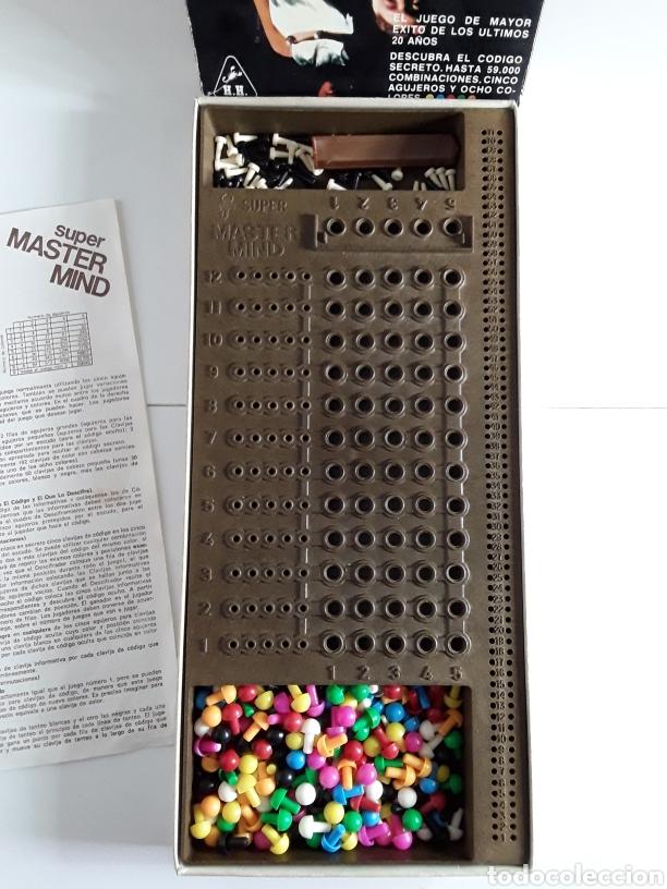 Juegos de mesa: Juego años 70 SUPER MASTER MIND - Foto 2 - 203776880