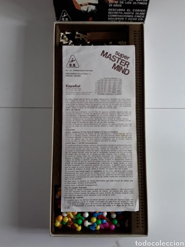 Juegos de mesa: Juego años 70 SUPER MASTER MIND - Foto 3 - 203776880