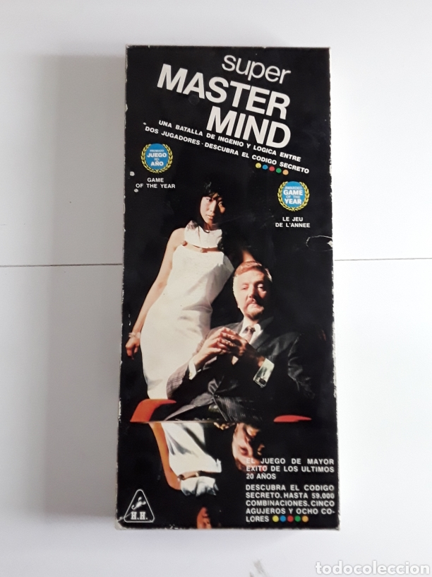 Juegos de mesa: Juego años 70 SUPER MASTER MIND - Foto 4 - 203776880