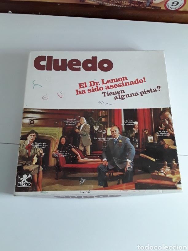 Juegos de mesa: Juego de mesa CLUEDO DE BORRAS - Foto 3 - 203778745