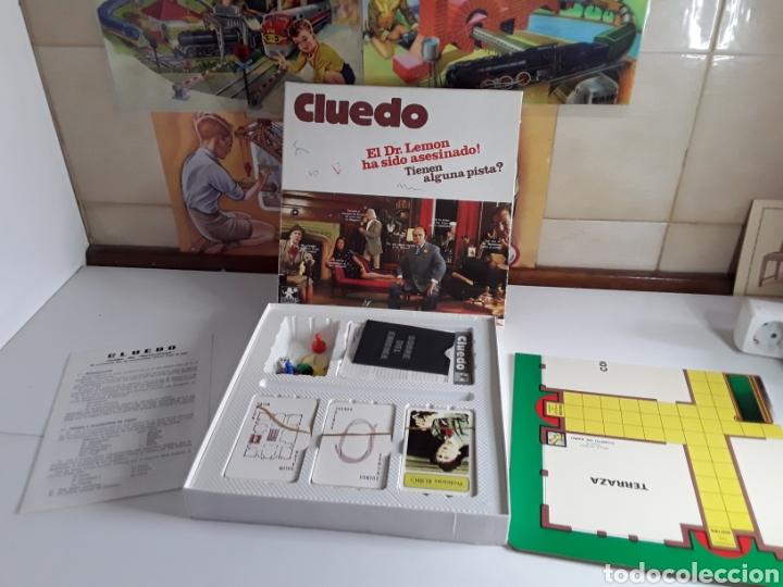 JUEGO DE MESA CLUEDO DE BORRAS (Juguetes - Juegos - Juegos de Mesa)