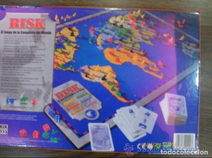 Juegos de mesa: Juego Risk - La conquista del mundo - Parker Hasbro - Retractilado Sin abrir Precintado (falomir mb - Foto 2 - 203905722