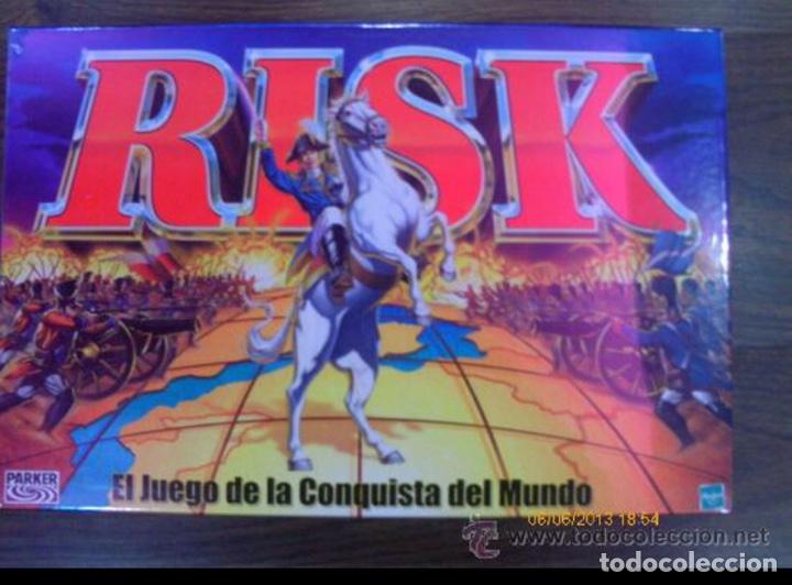 JUEGO RISK - LA CONQUISTA DEL MUNDO - PARKER HASBRO - RETRACTILADO SIN ABRIR PRECINTADO (FALOMIR MB (Juguetes - Juegos - Juegos de Mesa)
