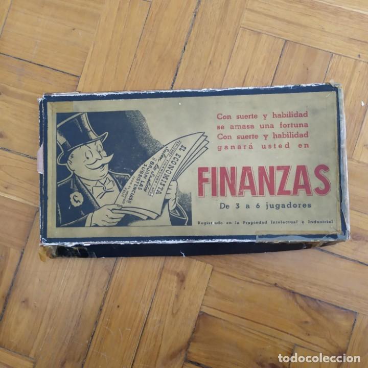 FINANZAS - JUEGOS CRONE (Juguetes - Juegos - Juegos de Mesa)