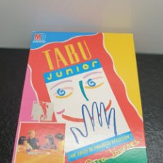 Juegos de mesa: JUEGO DE MESA TABÚ JUNIOR - MB JUEGOS (ENVÍO 4,31€). Lote 203956370
