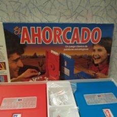 Juegos de mesa: JUEGO EL AHORCADO DE LOS 80. Lote 204077692