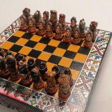 Jogos de mesa: CONQUISTADORES ESPAÑOLES AJEDREZ. Lote 204260757
