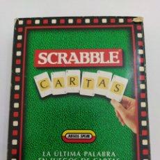 Juegos de mesa: JUEGO DE CARTAS SCRABBLE. Lote 204335315
