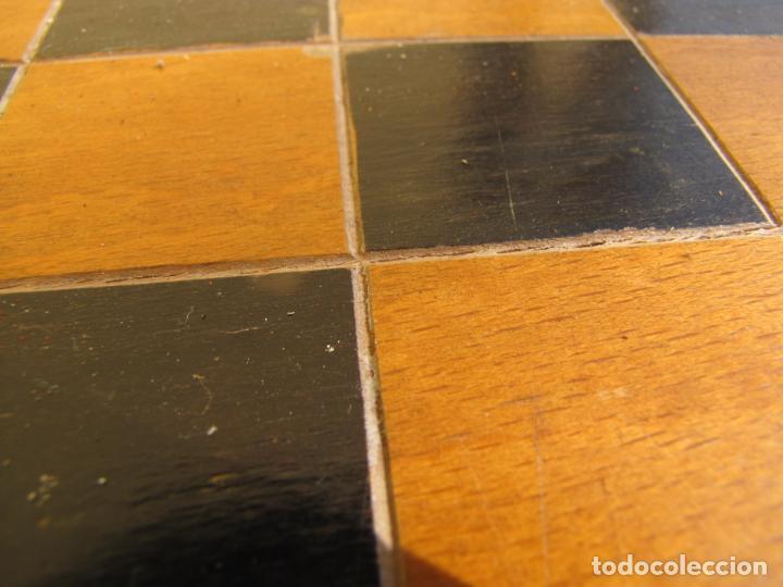 Juegos de mesa: 7- Ajedrez madera completo. Caja plegable tablero. - Foto 5 - 204522537