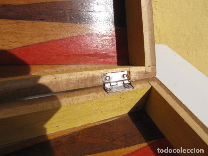 Juegos de mesa: 7- Ajedrez madera completo. Caja plegable tablero. - Foto 8 - 204522537