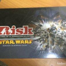 Juegos de mesa: JUEGO DE MESA - RISK STAR WARS - PARKER - PRECINTADO SIN ABRIR FALOMIR MB NAC HOTEL VINTAGE ESPECIAL. Lote 204628566