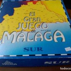 Juegos de mesa: EL GRAN JUEGO DE MÁLAGA - DIARIO SUR - PRENSA MALAGUEÑA, S.A. - 1996 - COMPLETO!!!. Lote 204742002