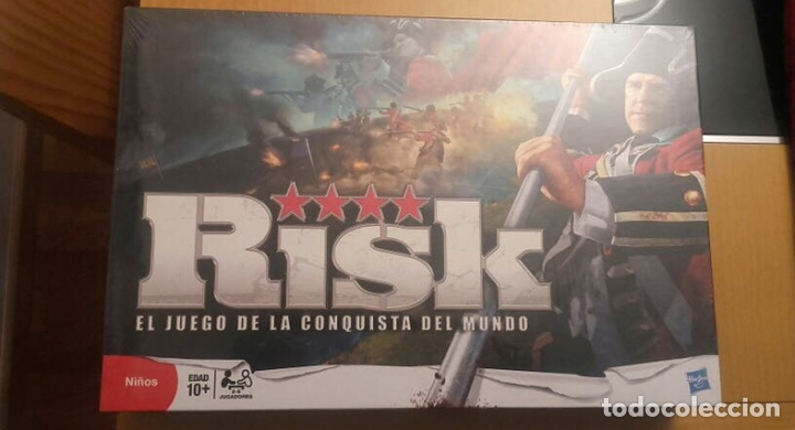 JUEGO DE MESA - RISK - RETRACTILADO PRECINTADO NAC FALOMIR CEFA DEVIR EDGE MB KENNER VINTAGE HASBRO (Juguetes - Juegos - Juegos de Mesa)