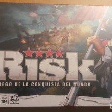 Juegos de mesa: JUEGO DE MESA - RISK - RETRACTILADO PRECINTADO NAC FALOMIR CEFA DEVIR EDGE MB KENNER VINTAGE HASBRO. Lote 204846076