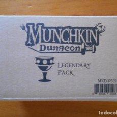 Juegos de mesa: MUNCHKIN DUNGEON - LEGENDARY PACK - KICKSTARTER EXCLUSIVE - NUEVO (9T). Lote 205000033
